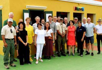 Vaste Kamercommissie bezoekt Washington Slagbaai Park