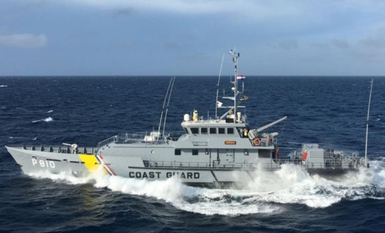 Kustwacht blijft met militaire bijstand de grenzen van Curaçao intensief bewaken