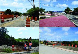 Wegherstel Bonaire komt eindelijk op stoom