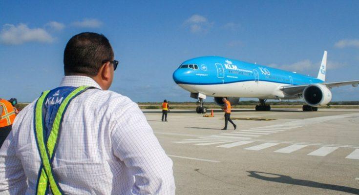 KLM voortaan met Boeing 777 naar Bonaire