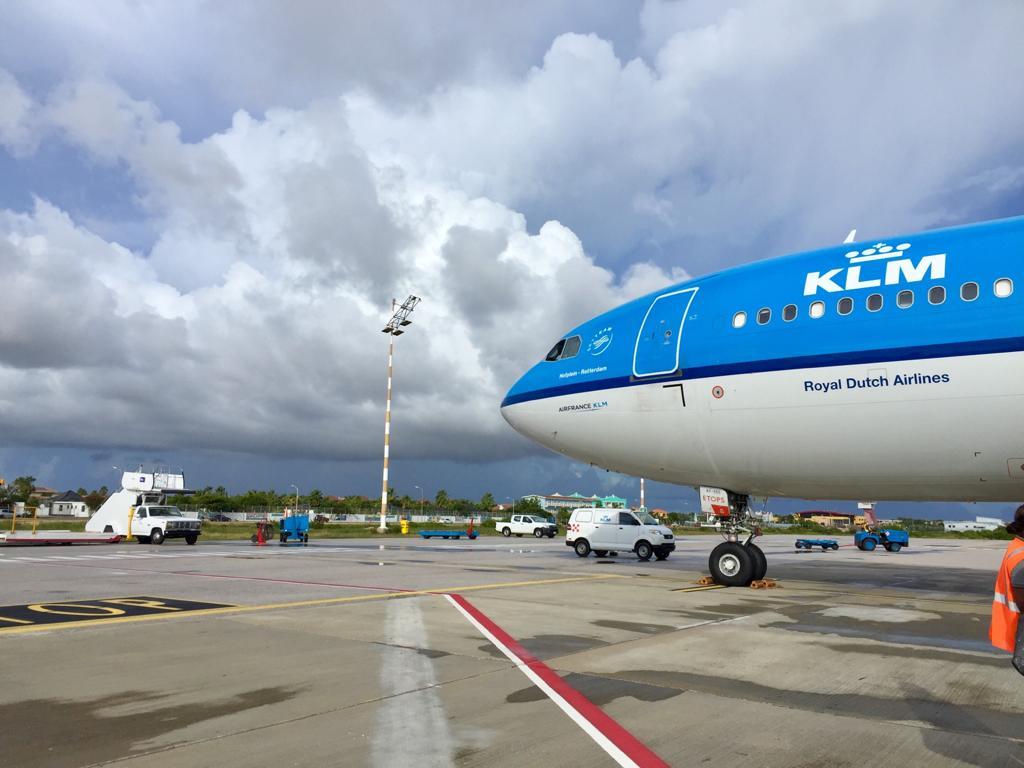 KLM blijft vliegen op de ABC eilanden en Sint Maarten