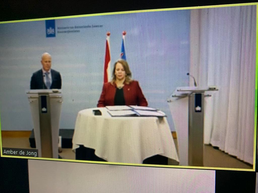 Aruba en Curaçao: miljoenen extra liquiditeitssteun na ondertekenen akkoord Nederland