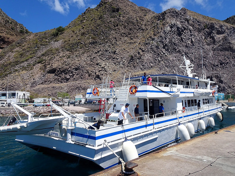 Speciale ferry vanaf Sint-Eustatius vanwege Sabadag