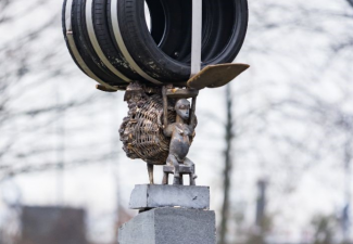 Tweede kunstwerk Tirzo Martha in Nederland