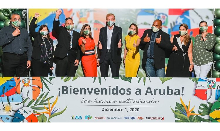 Aruba Airport weer open voor regionale vluchten
