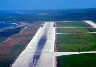 Op Curaçao 64 procent minder vliegbewegingen in 2020