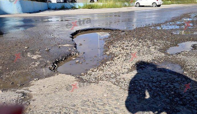 Nog geen geld om wegen te repareren op Curaçao