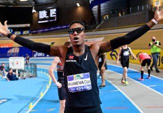 Nederlands record 400 meter voor Curaçaose Bonevacia
