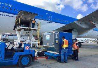 Bonaire ontvangt tweede zending vaccins