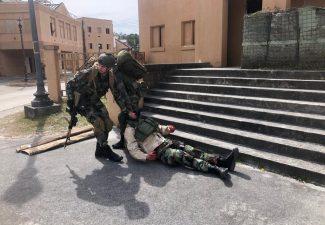 Mariniers uit Aruba op oefening in de VS met Amerikaanse leger