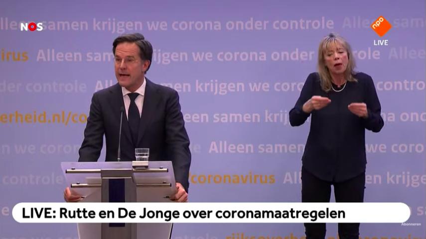 Rutte: In meivakantie nog niet naar het buitenland