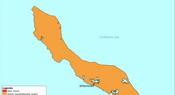 Aanpassing reisadvies Curaçao; thuisquarantaine en test verplicht