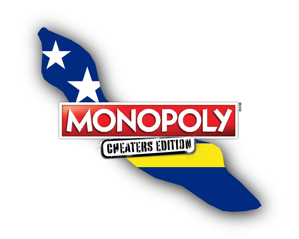 Het nieuwe monopoly van het ministerie van Financiën: pastechi's uit eigen doos