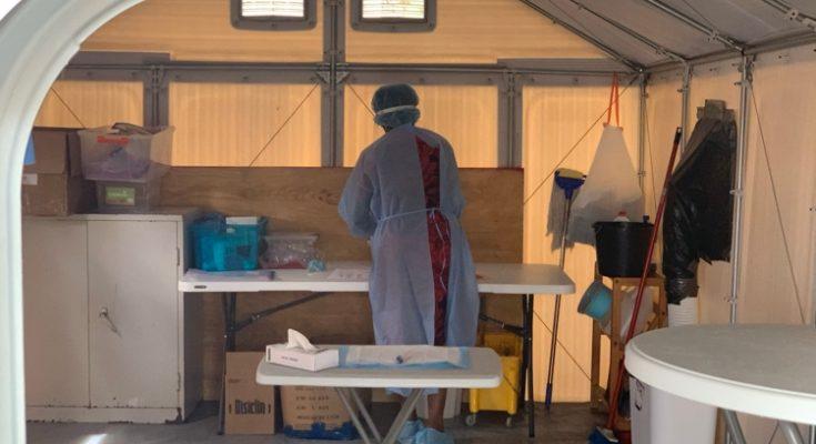 Testratio in februari daalt op Curaçao, 2000 minder tests uitgevoerd