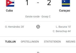 Curaçao wint ook tweede wedstrijd in WK-kwalificatie