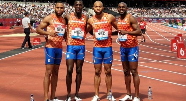 Nederland met Curaçaose toppers naar WK Estafette