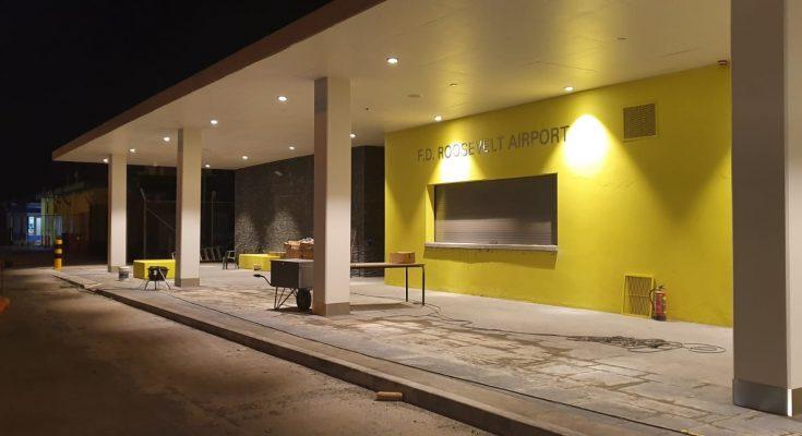 Nieuwe luchthaventerminal St. Eustatius in Juni klaar voor gebruik