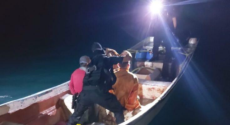 Interceptie Go-fast boot door Kustwacht bij Aruba