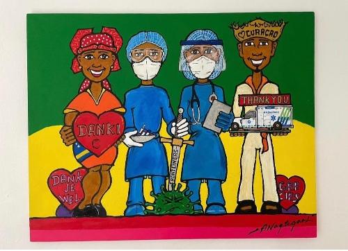 COVID Art Project van start in Caribisch Nederland