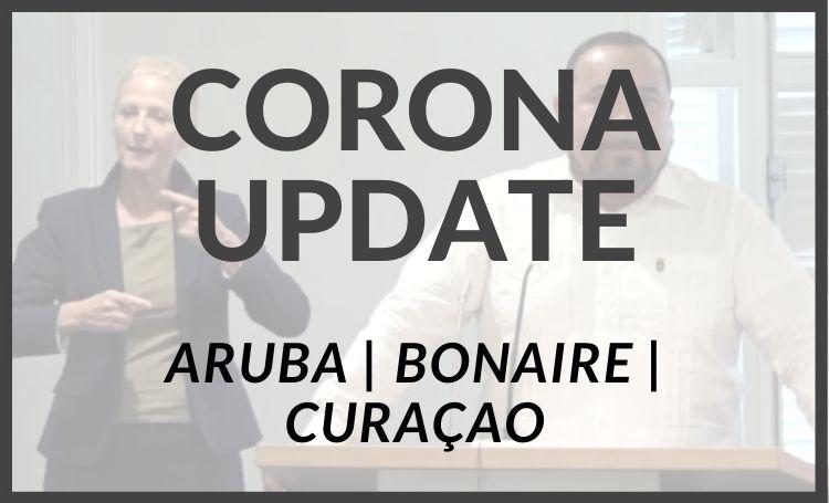 Corona-update voor Bonaire, Curaçao en Aruba