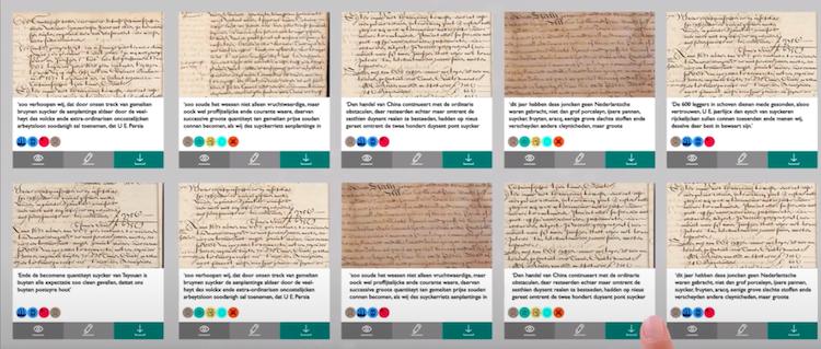 Sneller onderzoek door digitalisering VOC-documenten