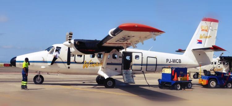 Winair gaat weer meer vliegen op Curaçao
