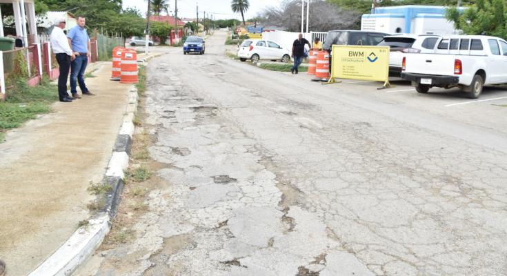 Startschot voor renovatie hoofdweg Rincon