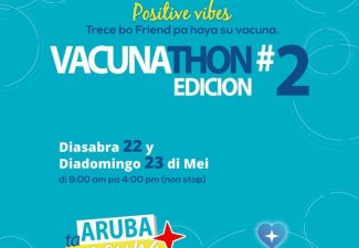 Dit weekend 2e Vacunathon op Aruba