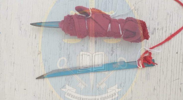 Steekpartij in de SDKK gevangenis op Curaçao