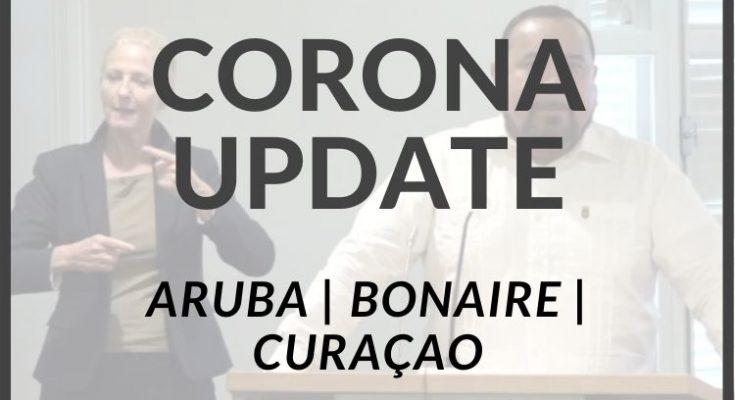 Weekendcijfers corona van Bonaire, Curaçao en Aruba