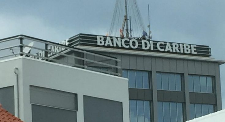 Banco di Caribe in de verkoop