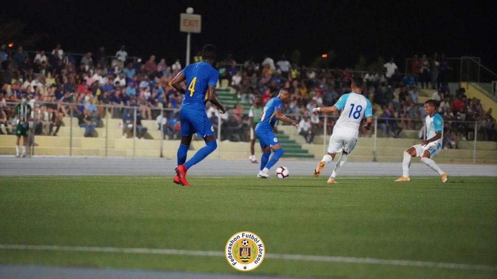 Bloedeloze 0-0 genoeg voor Curaçao voor volgende ronde WK-kwalificatie Qatar
