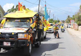 MEP houdt overwinningsparade op Aruba