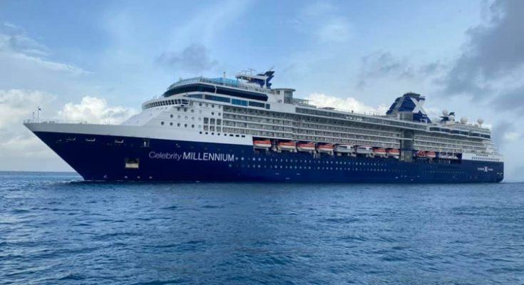 Eerste cruiseschip aangekomen op Aruba