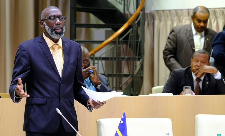 Vandaag heeft Curaçao een nieuwe regering