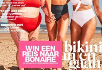 Bonaire op de cover van tijdschrift LINDA