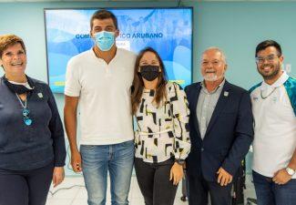 Arubaans team in Tokyo voor de Olympische Spelen