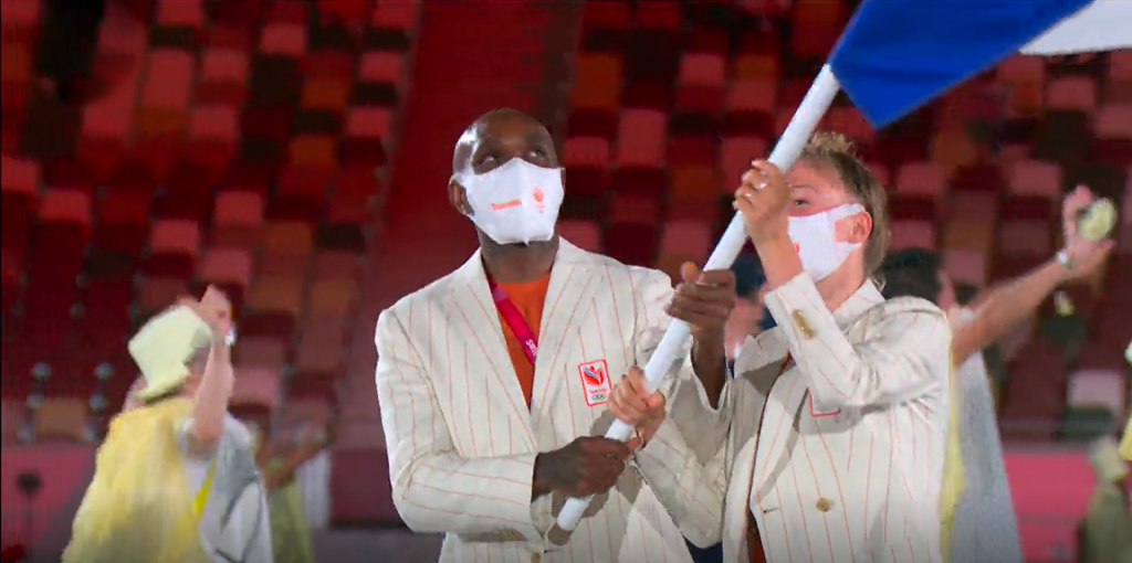 Waarom Churandy Martina in Tokyo niet de Curaçaose vlag draagt