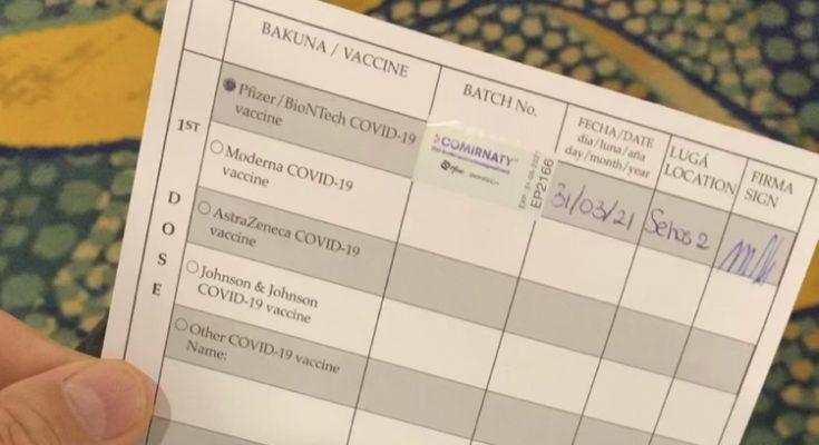 Vaccinatiebewijs wordt uniform in het Koninkrijk