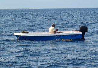 Opnieuw zoektocht naar vermiste visser bij Bonaire