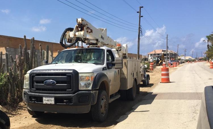 Blackout Bonaire door één kapotte kabel