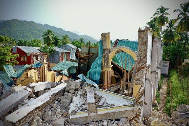 Verslag uit Haïti na de aardbeving