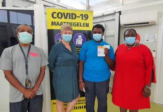 Sint Eustatius ook gestart met inenten van 12-17 jarigen