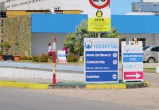 Ziekenhuis Aruba stampvol