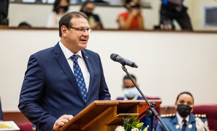 Nieuwe regering Aruba beëdigd