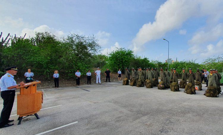 Aspirant kustwachters ronden introductieweken af op Curaçao