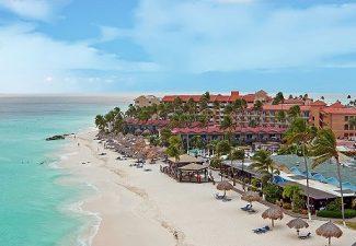 Minder reizigers in augustus voor Aruba